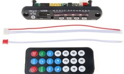 Плата MP3/ AUX/ Bluetooth модуль (BJ002-BT-V1.0), встраеваемый
