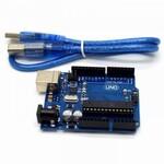 Плата Arduino UNO R3, CH340, Копия ATMEGA328P-PU