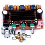 Плата усилитель TPA3116 12-24V 2.1 2x50W+100W