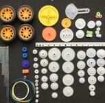 Набор пластиковых шестеренок для моделирования 78in